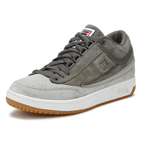 Fila Mens Highrise/Pewter Grey Original Fitness T1-Mid ...