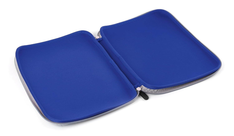 DURAGADGET Custodia in Neoprene Blu per Tablet Clementoni Clempad 9 Mio Primo Clempad 9 Plus Resistente allAcqua 10 9 Plus