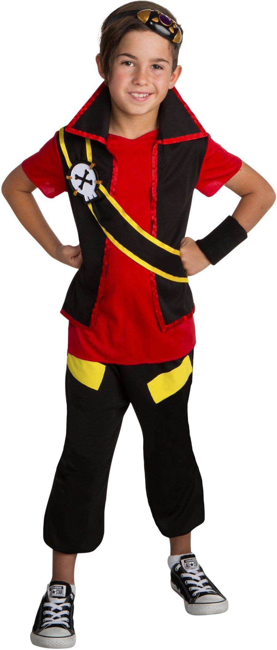 Zak Storm Super Pirate Zak Classic Boys Costume Small 4-6
