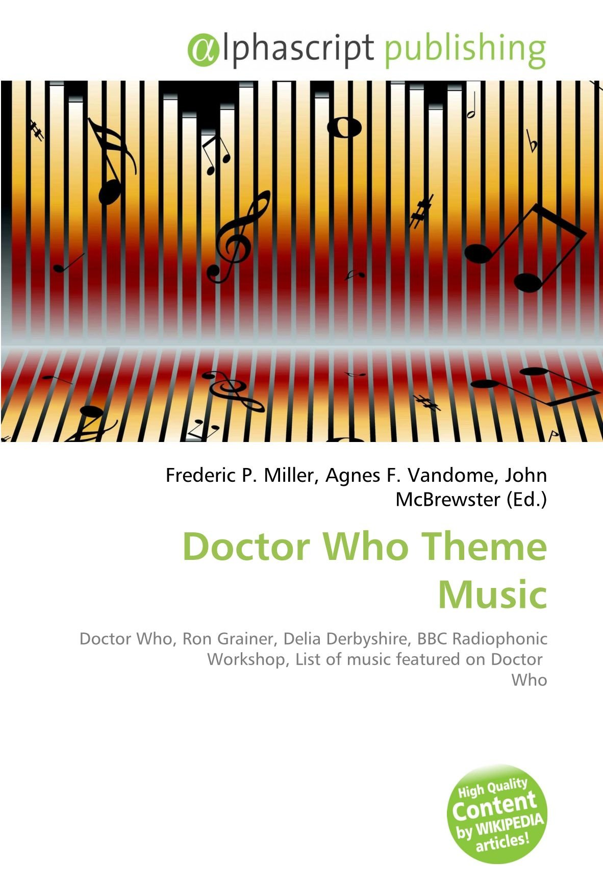 Doctor Who Theme Music: Doctor Who, Ron Grainer, Delia ...