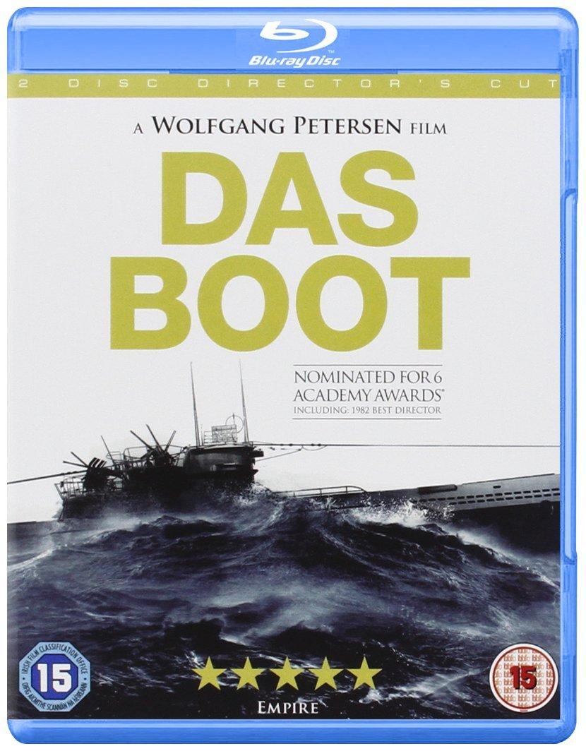 Das Boot (Director's Cut) [Blu-ray] [UK Import]: Amazon.de: Jürgen  Prochnow, Herbert Gronemeyer, Klaus Wennemann, Wolfgang Petersen, Jürgen  Prochnow, Herbert Gronemeyer, Gunter Rohrbach, Bavaria Atelier GmbH: DVD &  Blu-ray