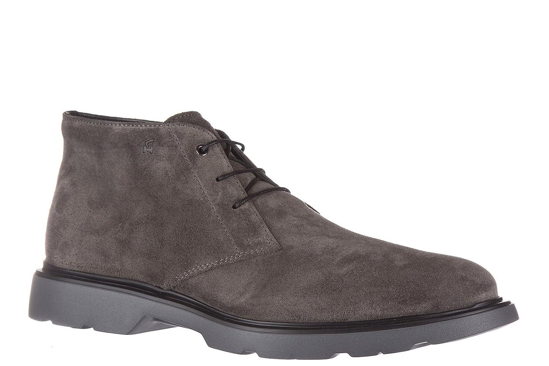 Hogan Men s Polacchine Stivaletti Scarpe Uomo Pelle Nuovo Rout Boots grey  grey  Amazon.co.uk  Shoes   Bags 668c42980b1
