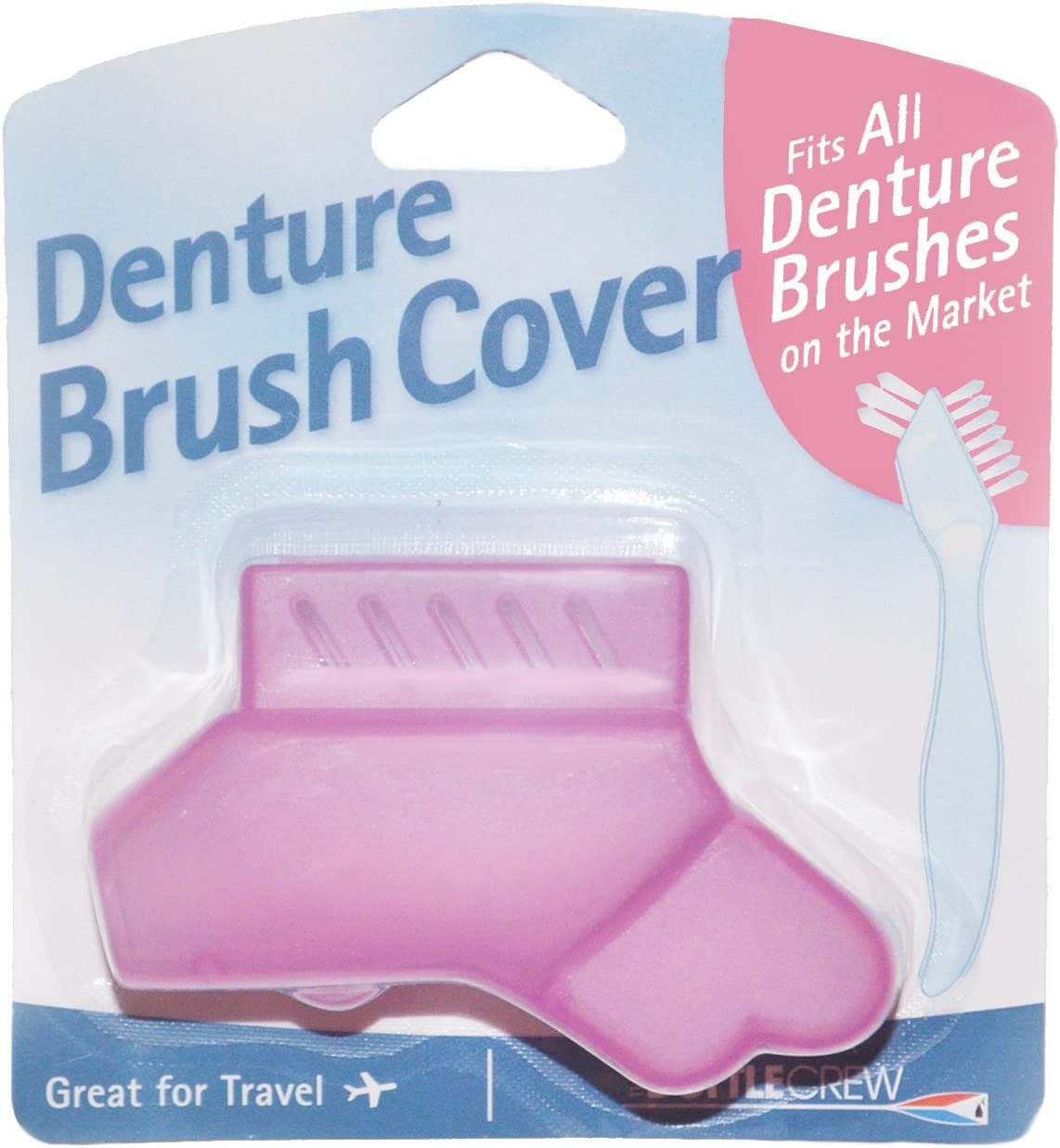 Denture Brush Cover - Fits All Denture Brushes: Home & Kitchen
