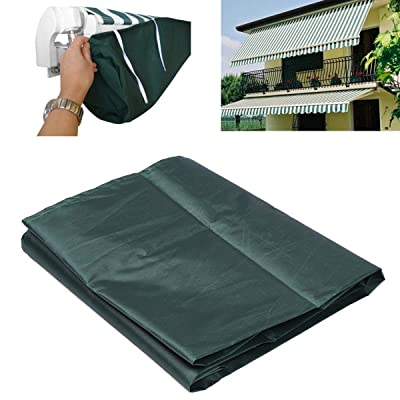 Green Protective Awning Cover Storage Bag with String for Outdoor Garden Sun Protection Dustproof (5m / 16.40ft) : Industrial & Scientific