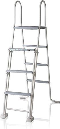 Gre ES1213 Escalera para Piscina Elevada, 134 cm: Amazon.es: Jardín