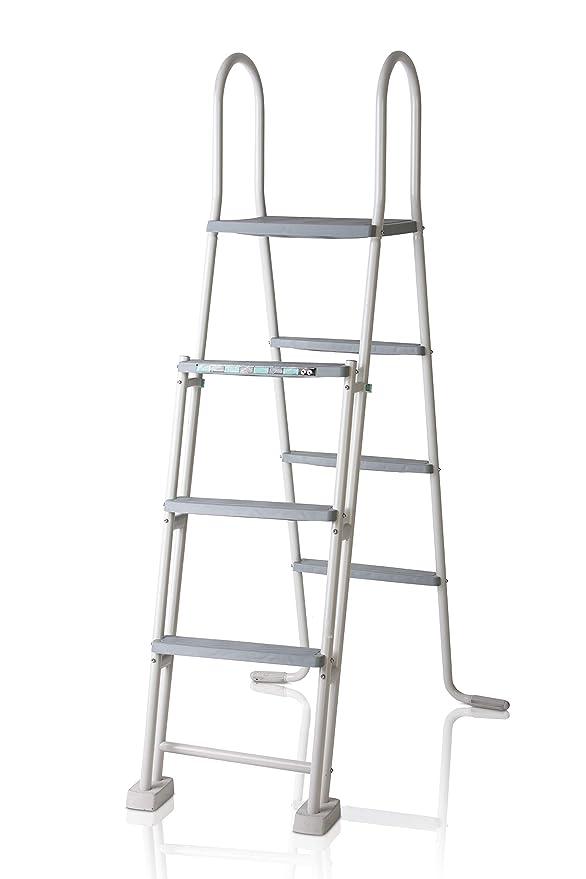 Gre ES1213 Escalera para Piscina Elevada, 134 cm,