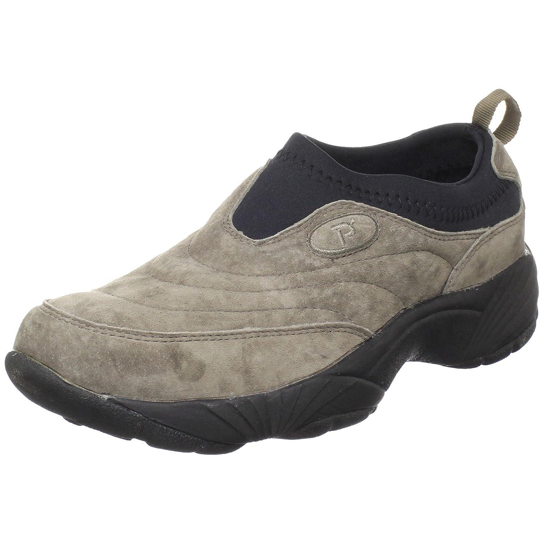 Propet Women's W3851 Wash & Wear Slip-On B003C1PXFG 10 5E US|Gunsmk/Blk