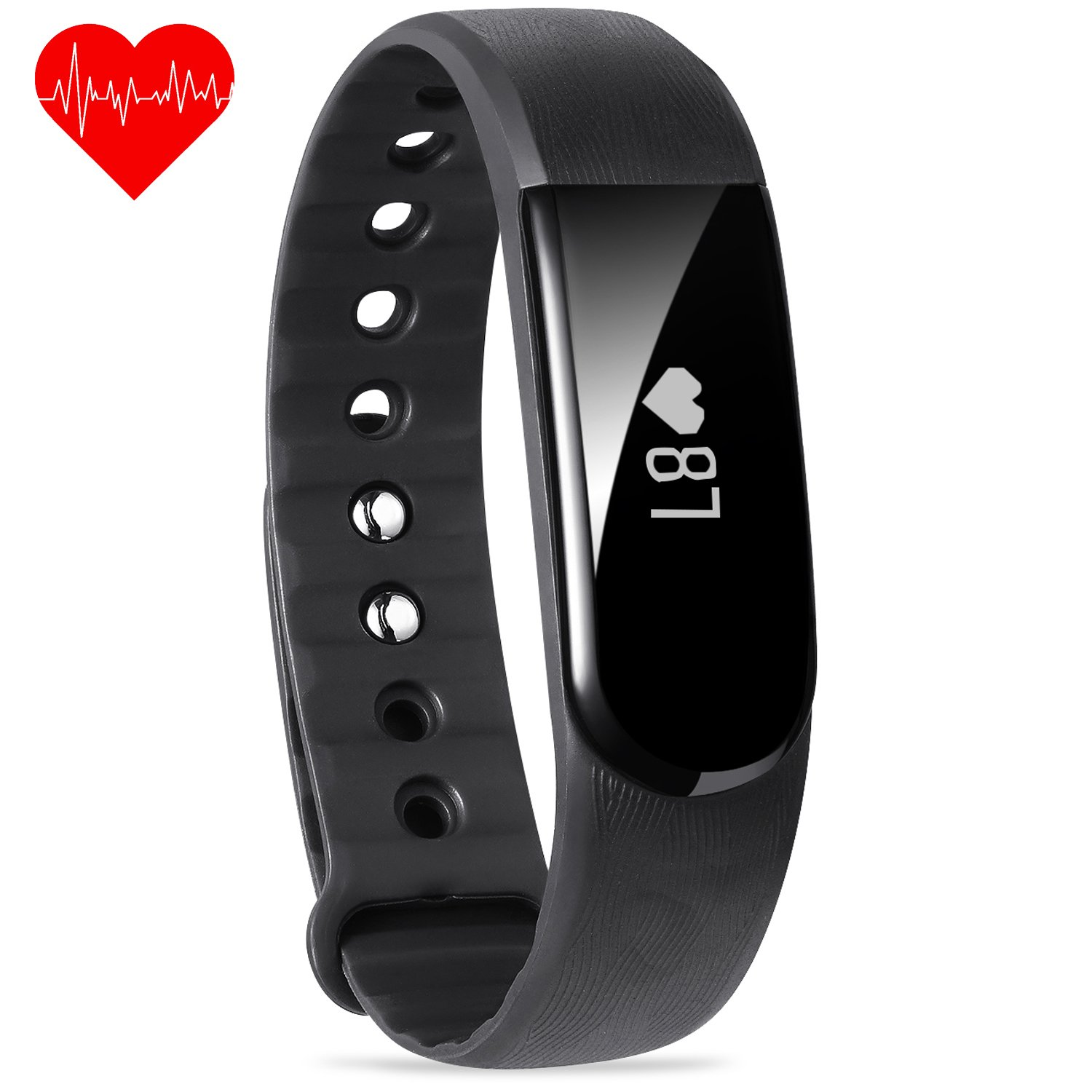 pin tracker watch dbpower activity watches heart with monitor hr fitness rate