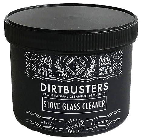 Dirtbusters - Limpiador profesional en pasta para el cristal de las estufas de leña, 500