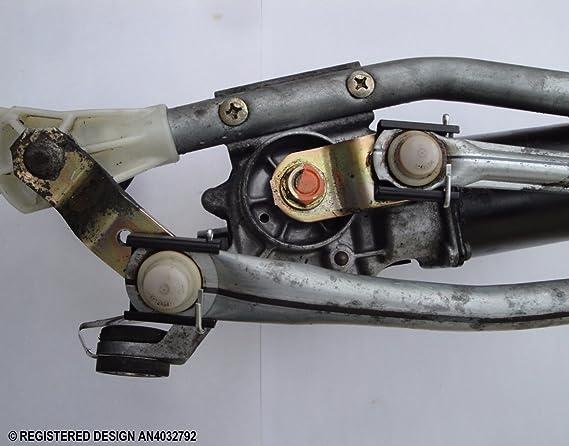 Motor de limpiaparabrisas reparación de la canal atm-ni X 2: Amazon.es: Bricolaje y herramientas