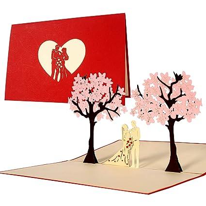 Tarjeta de felicitación de boda e invitación, elegante ...