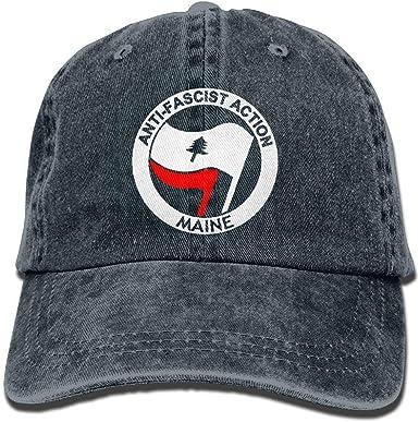 Jocper Gorra de béisbol Unisex de acción antifascista de Maine ...