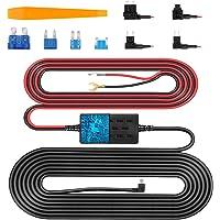 VanTop V9F Dash Cam Hardwire Kit, 11.5ft Mini USB Hard Wire Kit for Dashcam Converts 12V-24V to 5V/2.5A w/Fuse Kit and…