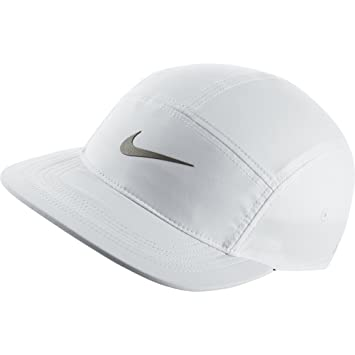6dc7bb345fe Nike Run AW84 Cap - White Black Reflective Silver