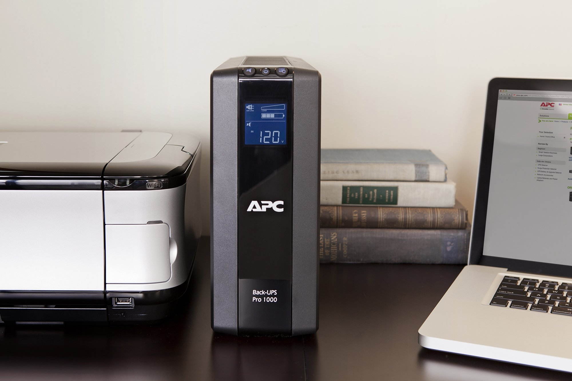 APC Back-UPS Pro 1000VA UPS Battery Backup & Surge Protector (BR1000G) by APC (Image #1)