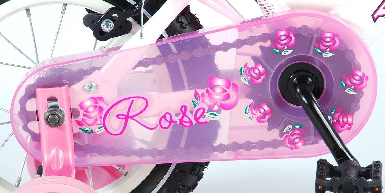 Bicicleta para ni/ña Rosa de 12 Pulgadas