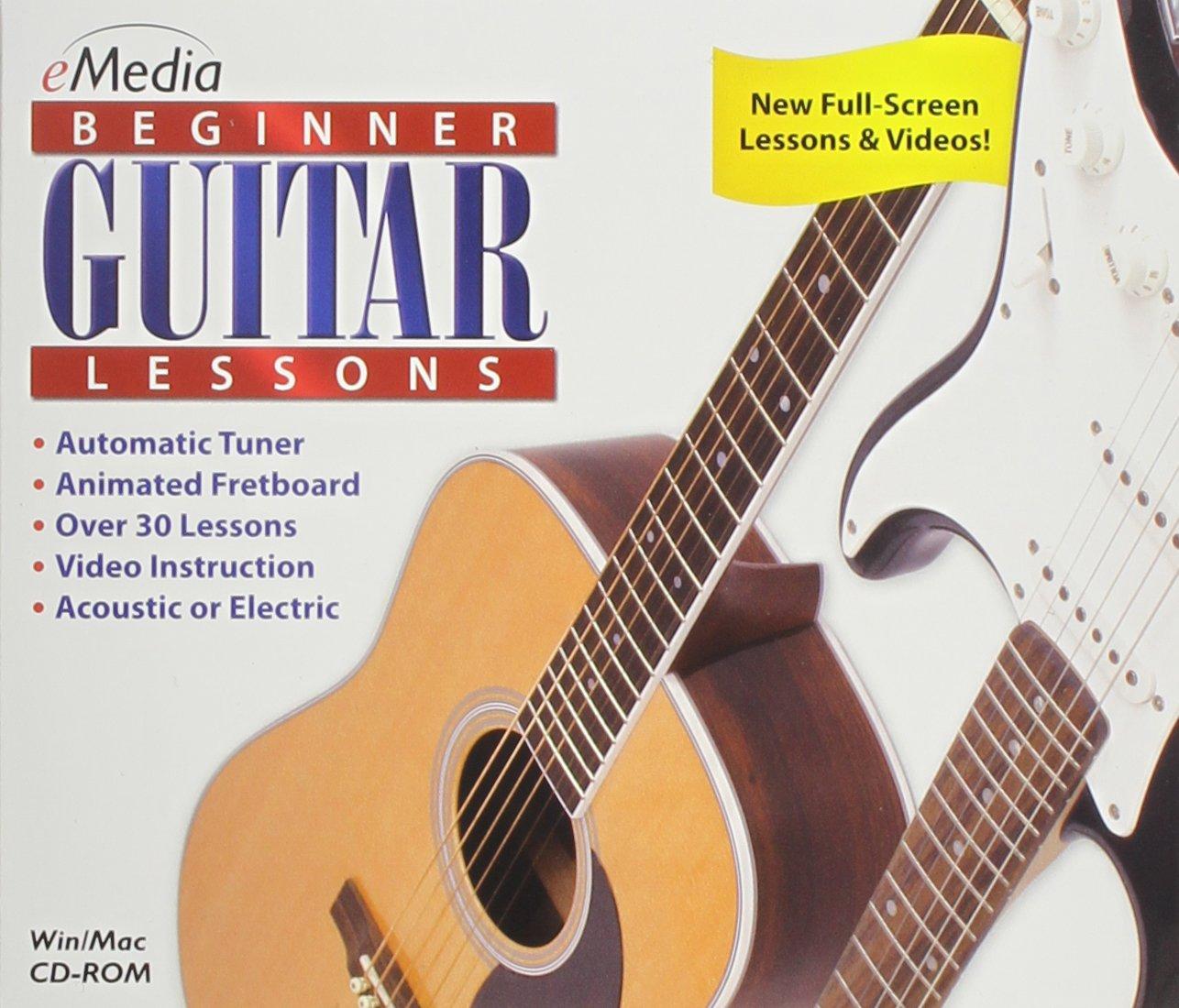 Beginner Guitar Lessons eMedia EG03031