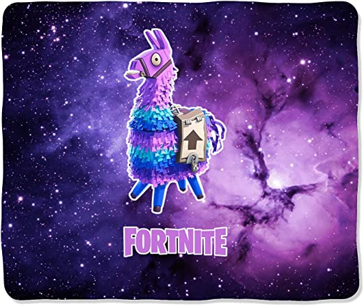 Tina Silvergray 60 X 50 Double Side Fleece Thickenend Throw Blanket For Fortnite Game Fans Galaxy Llama Amazon Ca Home Kitchen