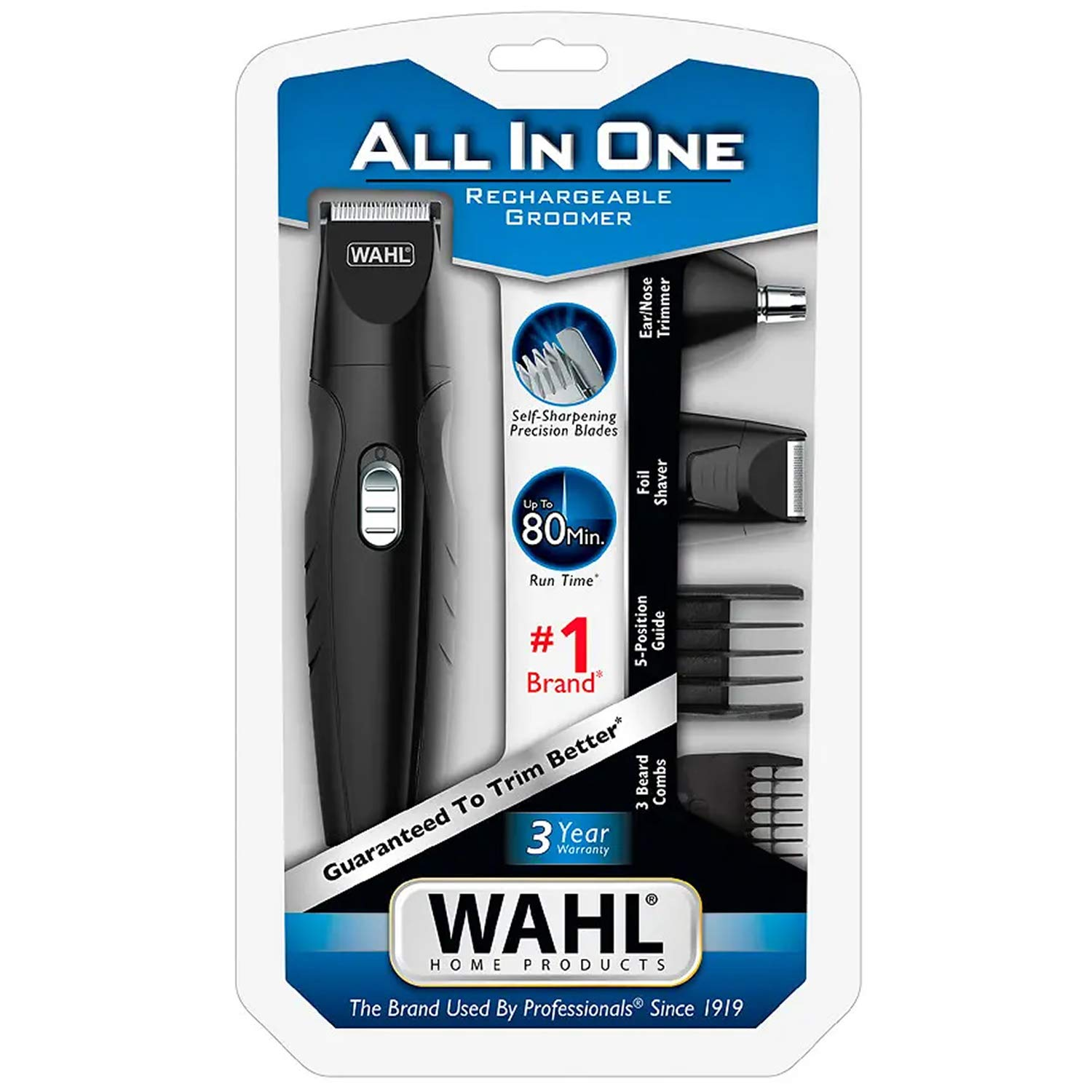 Wahl All-In-One Groomer 14 Piece