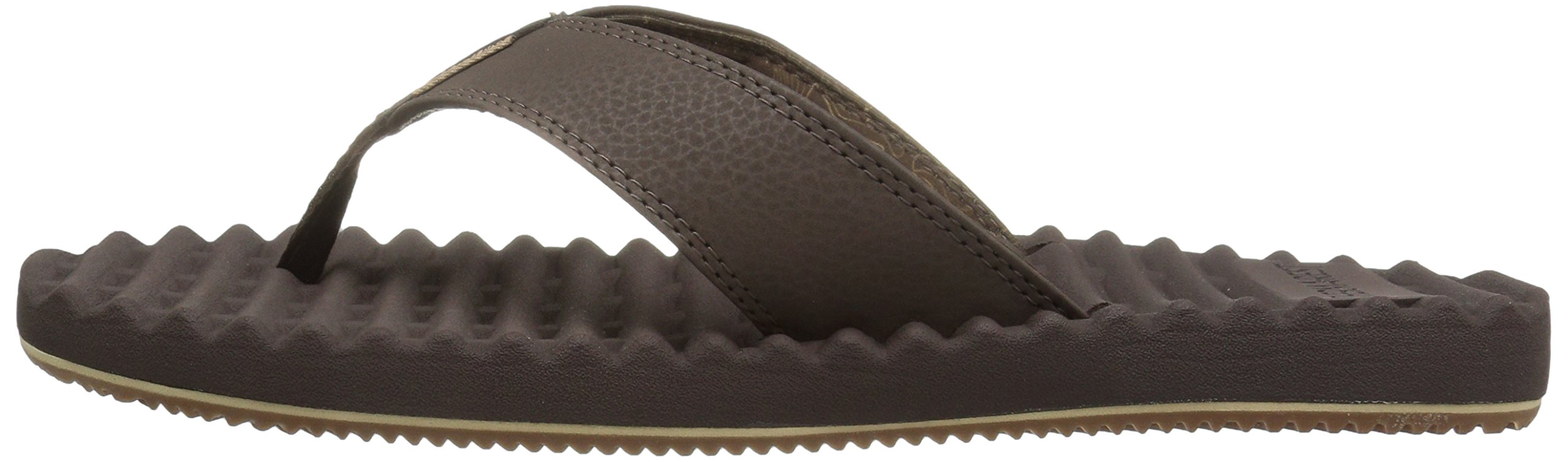 Freewaters Men's Basecamp Therm-a-Rest Flip Flop Sandal, Brown, 10 M US by Freewaters (Image #5)