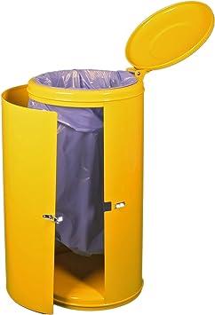 Unbekannt Abfallsammler M/üllsackst/änder verzinkt u PB 120 L mit Spannverschlu/ß