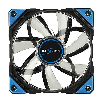 Enermax UCDFV12A-BL Carcasa del Ordenador Ventilador - Ventilador de PC (Carcasa del Ordenador, Ventilador, 800 RPM, 1500 RPM, 16 dB, 22 dB)