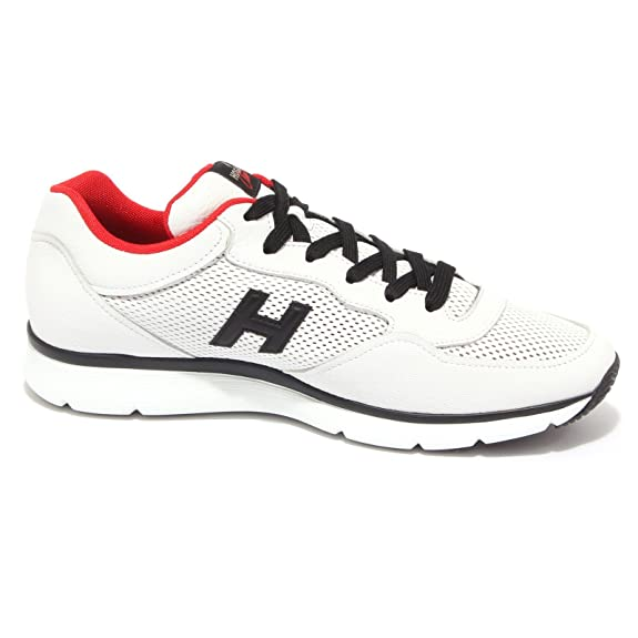 3744Q sneaker uomo scarpa bianco HOGAN CLUB sneaker men [11] Sn7igZ83Y