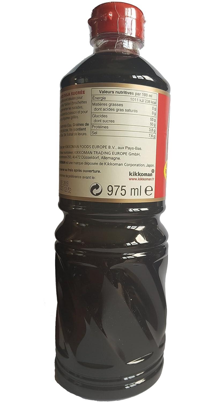 Sauce soja sucrée KIKKOMAN 975ml Hollande: Amazon.es: Alimentación y bebidas