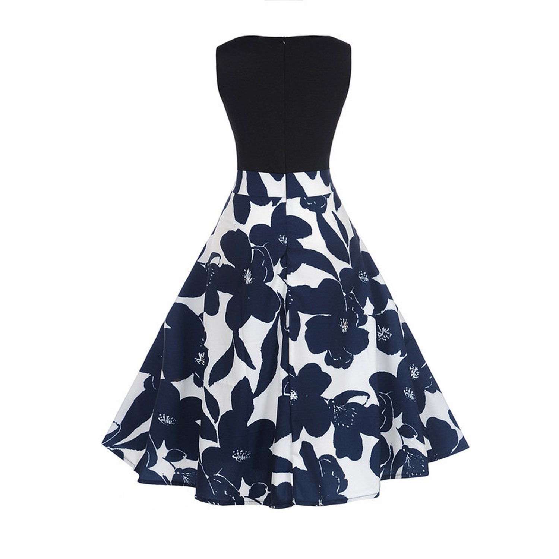 Cross-Border Supply of Womens Clothing hot-Sale V-Neck Sleeveless Dresses at Amazon Womens Clothing store: