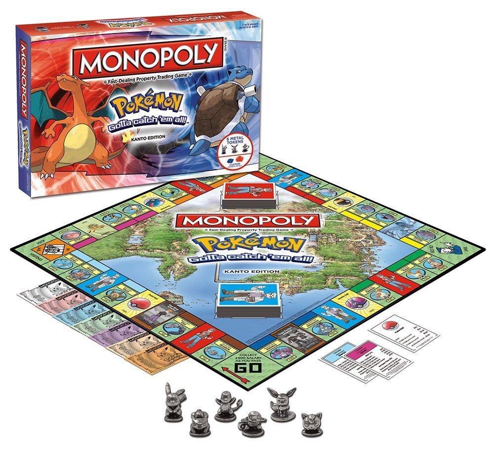 MONOPOLY Pokemon Kanto Ed BoCSzL, 3 Pack
