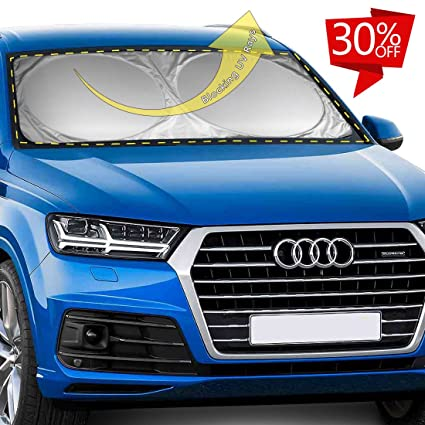 JClover Car Windshield Sunshade Blocks UV Rays Sun Protection - Auto Window  Screen Visor Heat Blocker 54059256fce