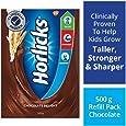 Horlicks Health & Nutrition Drink - 500 g Refill Pack (Chocolate Flavor)