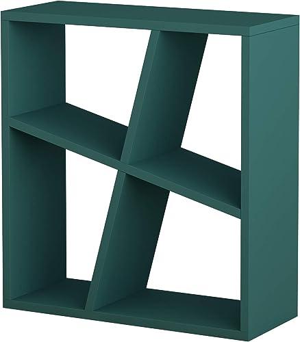 Ada Home D cor Sada Side Table, 23.62 x 21.16 x 8.66 , Turquoise