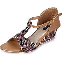 TRASE Fabiana Wedges for Women - 2 Inch Heel