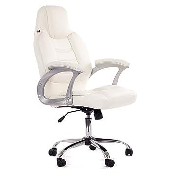 Bürosessel weiß  MY SIT Profi Bürostuhl ergonomisch mit Armlehnen & hoher ...