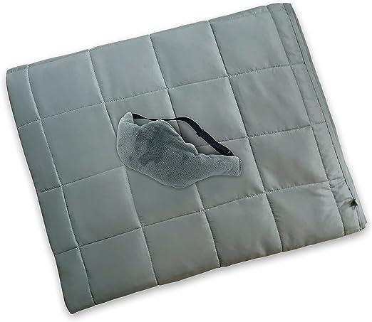 Manta pesada de 20 libras | La manta es 100% algodón orgánico con ...