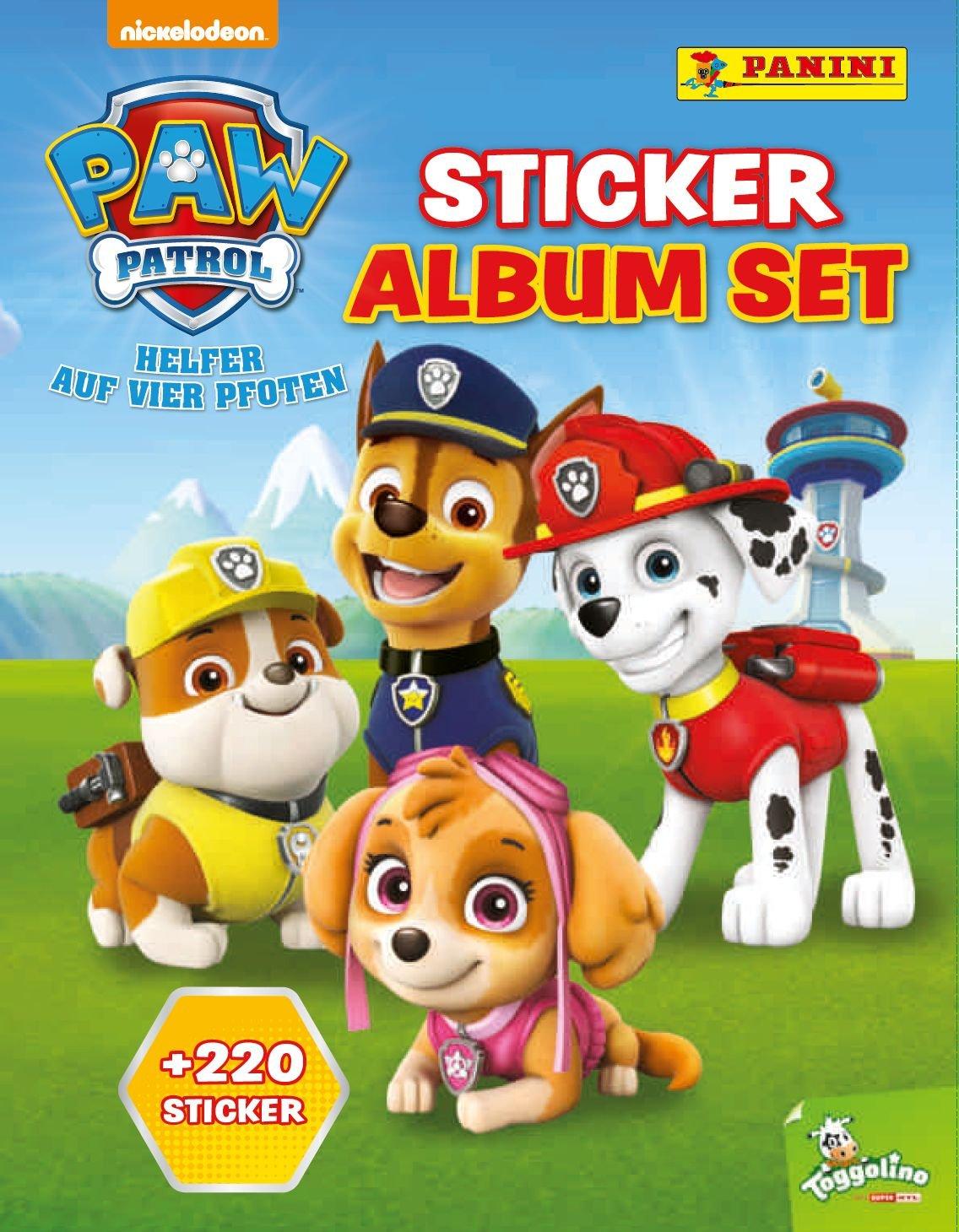 PAW Patrol Sticker Album Set