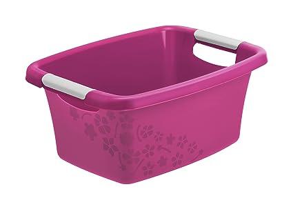 Vasca Da Bagno Rosa : Rotho biancheria per vasca da bagno in plastica plastica pp