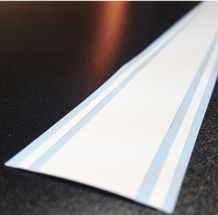 Matte Black ORACAL 2x72 Vinyl Racing Stripe Decal