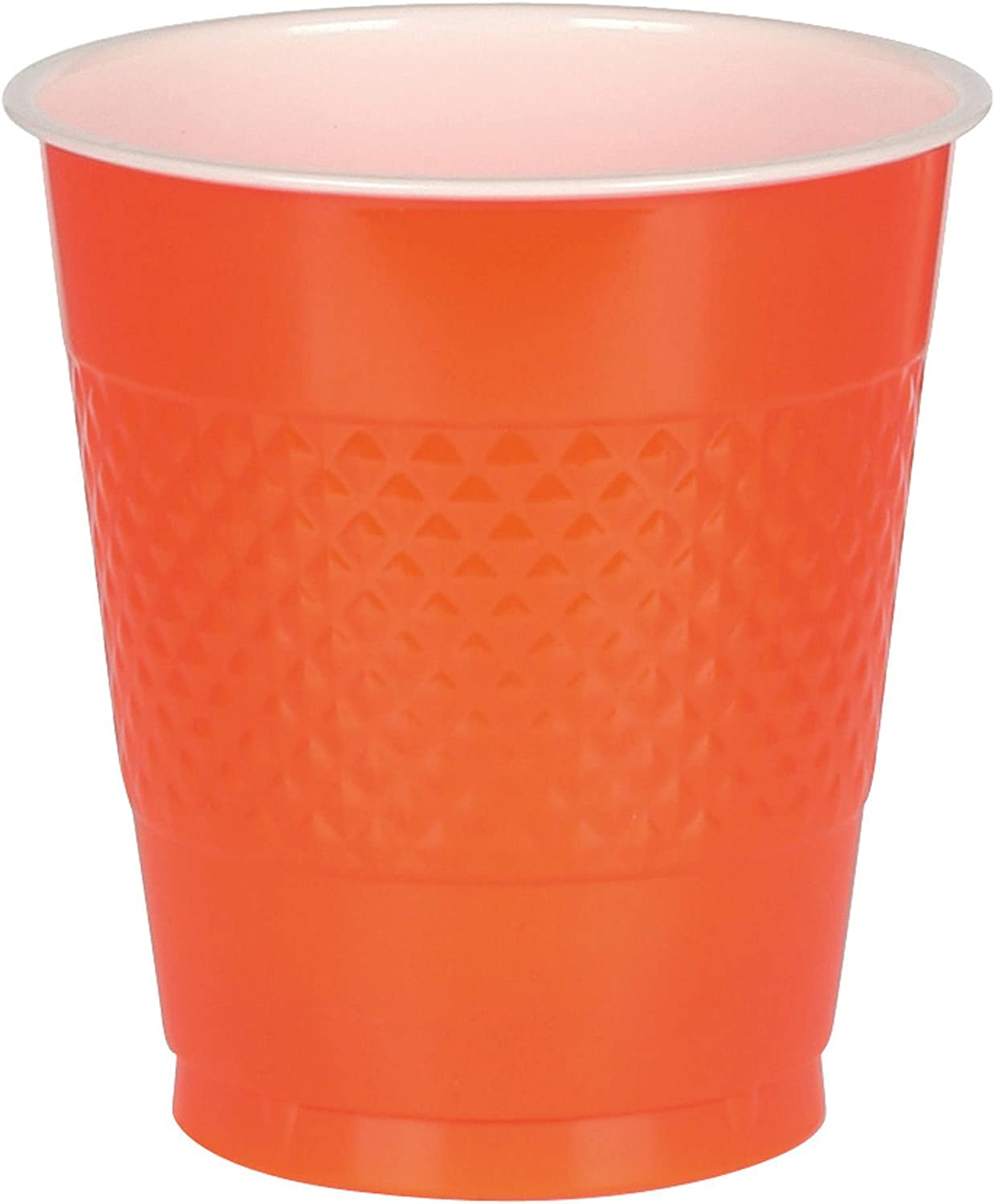 Big Party Pack Orange Peel Plastic Plates Pack of 50 10.25 Party Supply