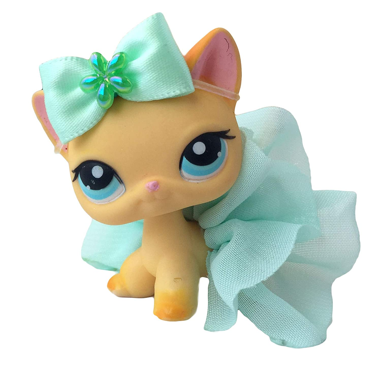 LPS Littlest Pet Shop Bow Skirt Accessories Lot *CAT not Included*