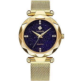 Watches Diamond Steel Mesh Belt Watch Fashion Casual Women Dress Watch Ladies Dress Wristwatches Wide Selection;
