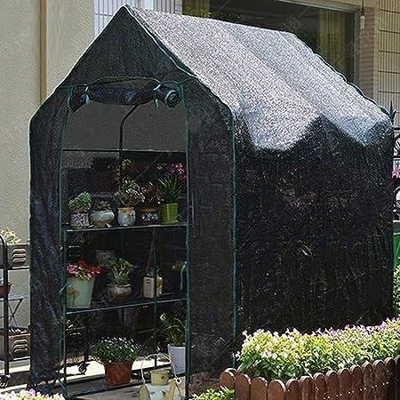 Invernadero jardin Cubiertas de Tela de Sombra Invernadero con Estante de 2 Niveles, Invernadero Grande de Servicio Pesado Extra Ancho Invernadero, Carpa de Cultivo de Tomate para Jardín al Aire Libre: Amazon.es: