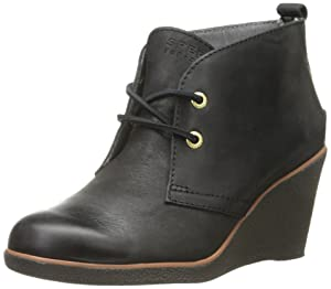Sperry Top-Sider Women's Harlow Boot, Black, 7.5 M US