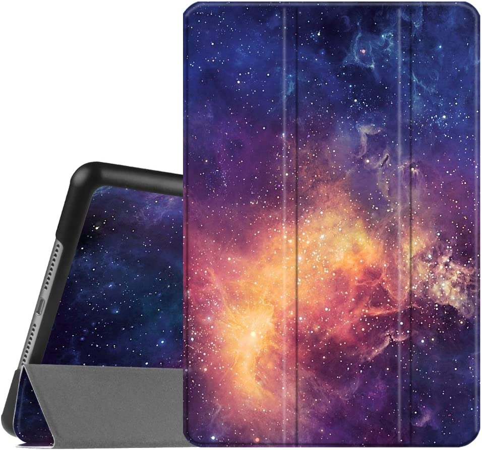 Fintie Case for iPad Mini 4 - Slimshell Lightweight Smart Stand Protective Cover with Auto Sleep/Wake Feature for iPad Mini 4 (2015 Release), Galaxy