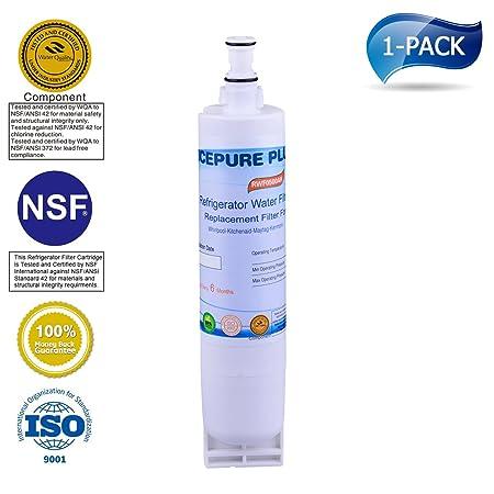 Icepure Plus de repuesto compatible con filtro de agua Whirlpool ...
