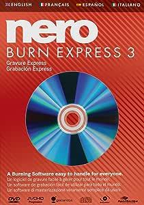 Nero Burn Express 3 - Software De Grabación: Amazon.es