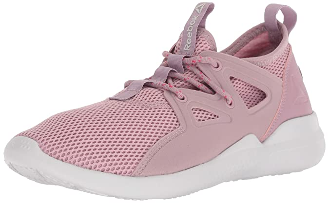 Reebok Women's Cardio Motion Cross Trainer, Insused Lilac/Porcelain/t, 11 M US