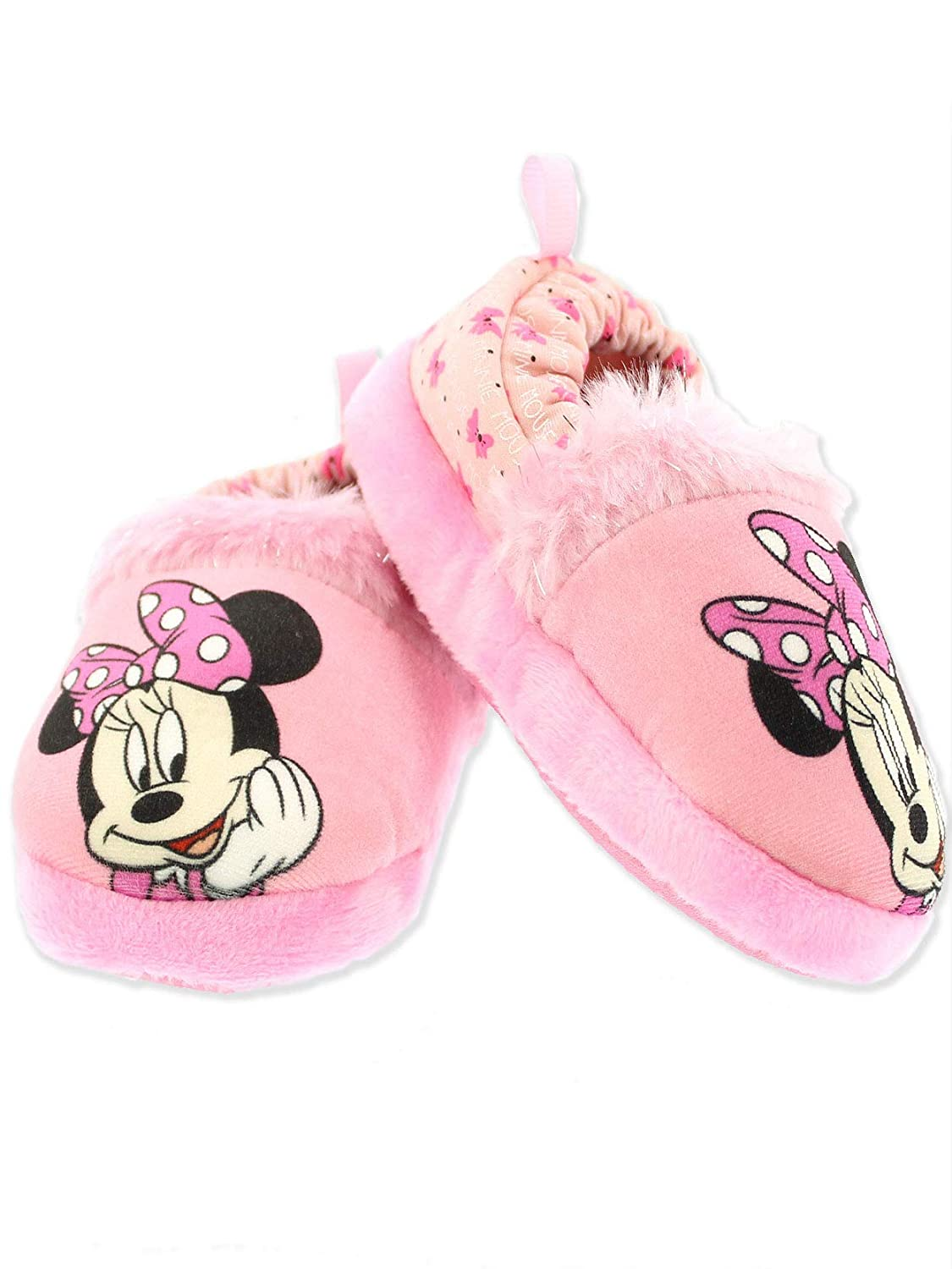 Minnie Mouse Toddler Girl's Plush A-Line Slippers manufacturer