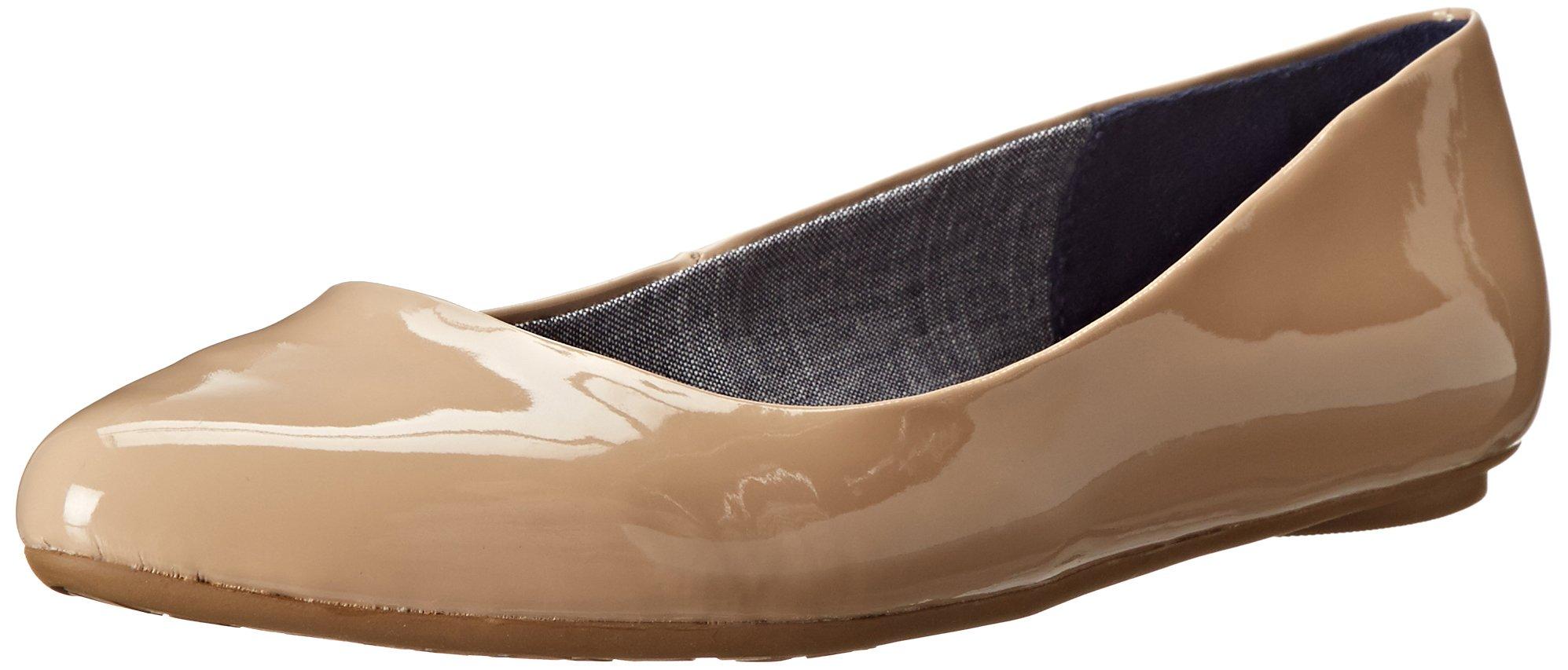 Dr. Scholl's Women's Sand Patent Flat  Shoes - 9 C/D US